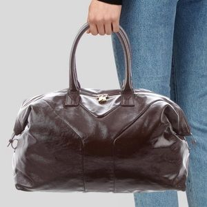 Yves Saint Laurent Patent LeatherBag.